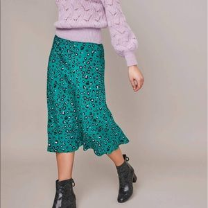 ASTR The Label Pamela Midi Skirt